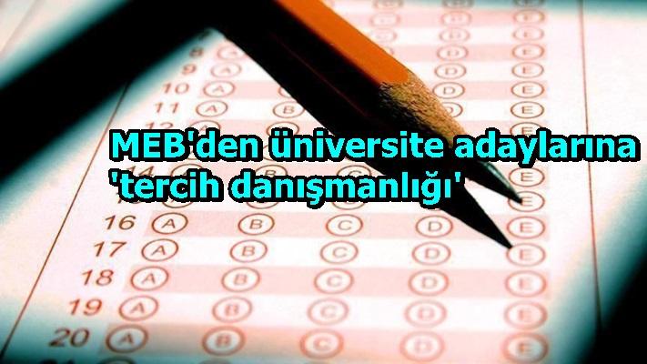MEB'den üniversite adaylarına 'tercih danışmanlığı'