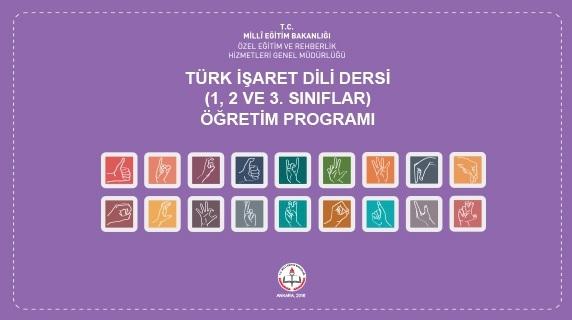 """İşitme engelli öğrencilere """"Türk İşaret Dili"""" dersi"""