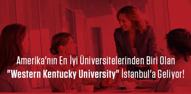 Amerika'nın en iyi 30 üniversitesinden biri İstanbul'da