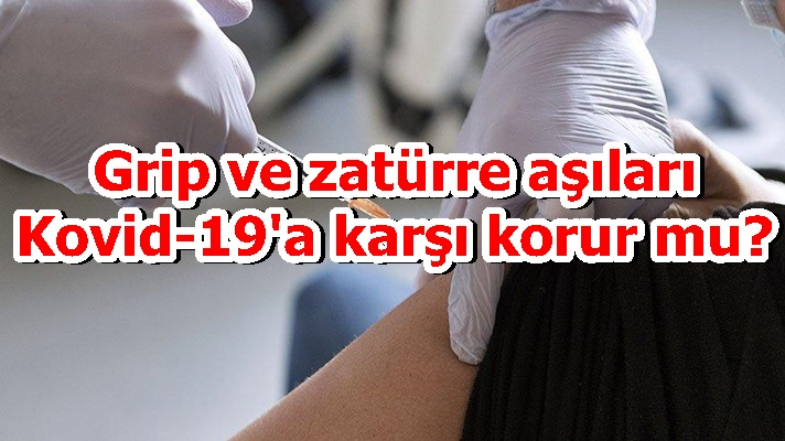Grip ve zatürre aşıları Kovid-19'a karşı korur mu?
