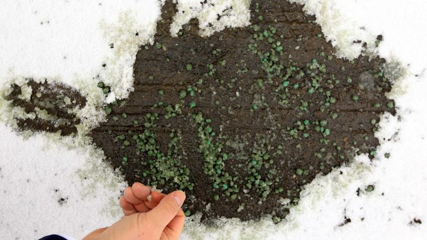 Karla mücadelede çığır açacak formül geliştirdi