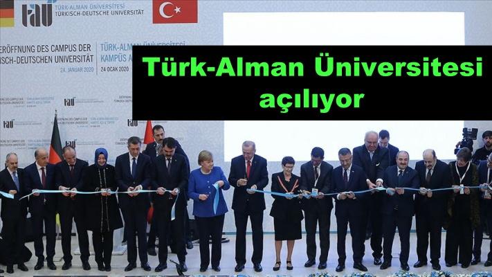 Türk-Alman Üniversitesi açılıyor