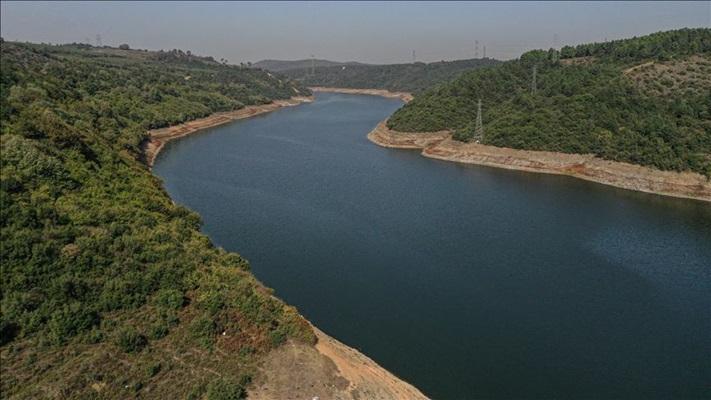 İstanbul'un barajlarındaki su seviyesi yüzde 30,89'a indi