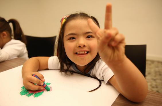 EXPO 2016, down sendromlu çocukların geleceğini renklendirdi