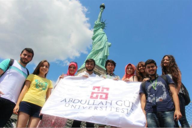 AGÜ'lü Öğrenciler Amerika'da