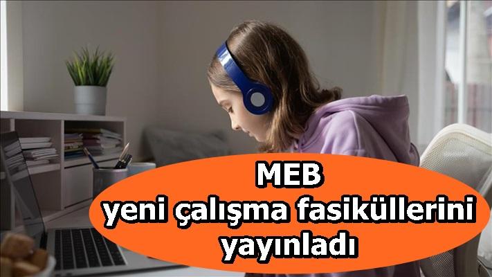 MEB yeni çalışma fasiküllerini yayınladı