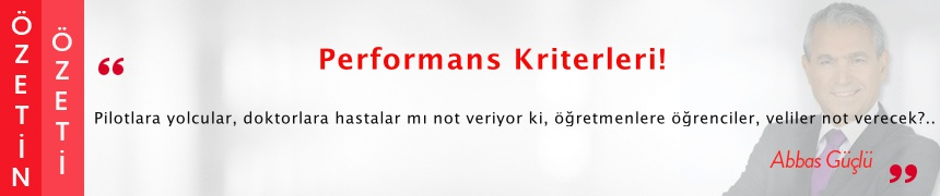 Performans Kriterleri!