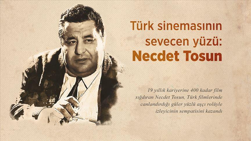 Türk sinemasının sevecen yüzü: Necdet Tosun