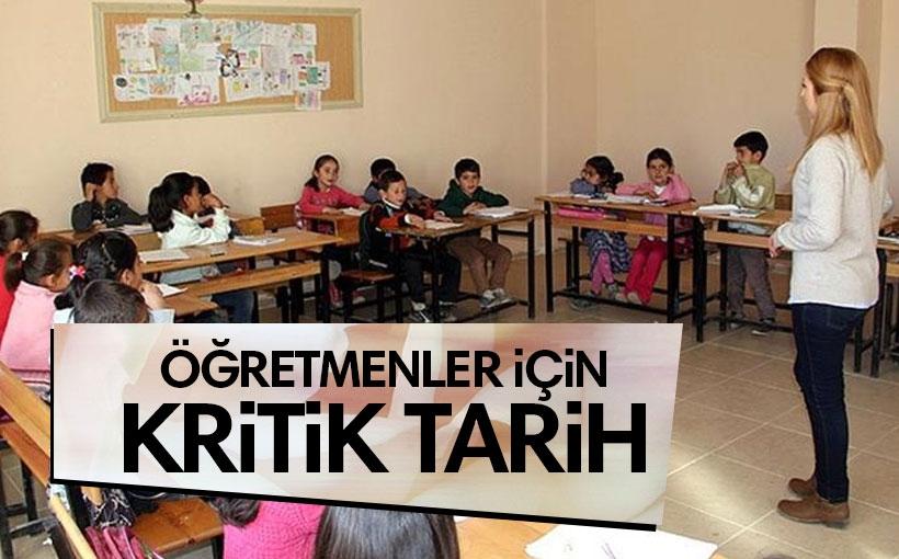 MEB'den idari izinli aday öğretmenler için yeni sınav takvimi