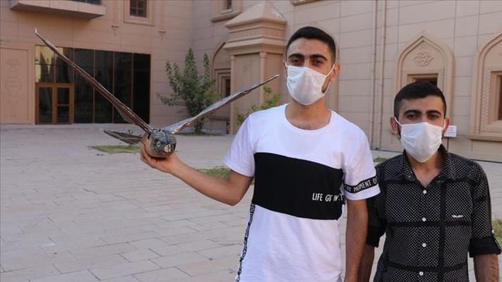 Ağrı'daki üniversite öğrencilerinin ürettiği 'robot kuş' TEKNOFEST'te sergilenecek