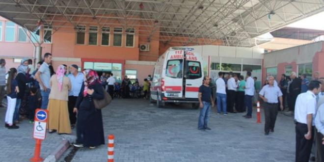 Hatay'da 168 öğrenci hastaneye kaldırıldı