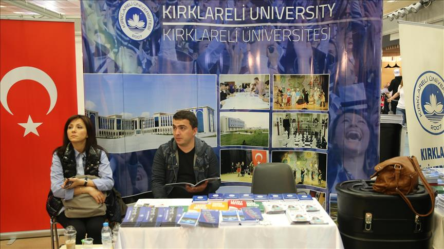 Türk üniversiteleri Yunanistan'da görücüye çıktı