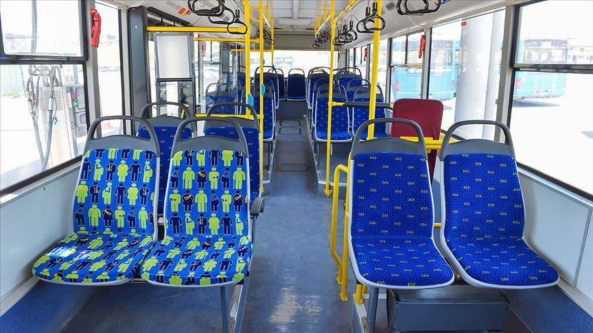 Başkentte otobüslerde 'öncelikli koltuklara' özel figür
