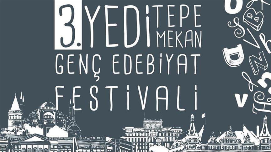 'Yedi Tepe Yedi Mekan Genç Edebiyat Festivali' başlıyor