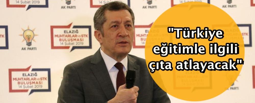 Türkiye eğitimle ilgili çıta atlayacak