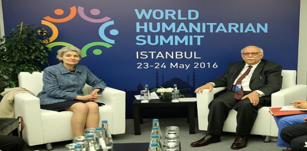 Bakan Avcı, Dünya İnsani Zirvesi'ne katıldı