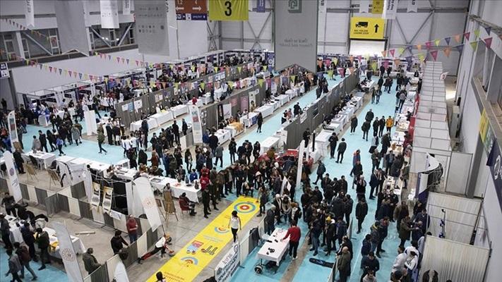 'Doğu Anadolu Kariyer Fuarı'nda 35 bini aşkın üniversiteli buluştu