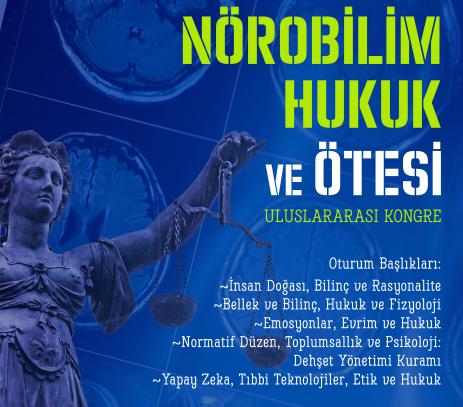 """MEF ÜNİVERSİTESİ'NDE """"HUKUK, NÖROBİLİM VE ÖTESİ"""" KONFERANSI YAPILACAK"""