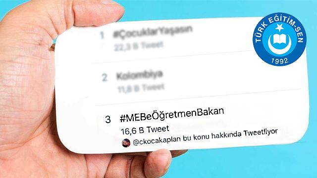 MEB'e öğretmen bakan talebi!