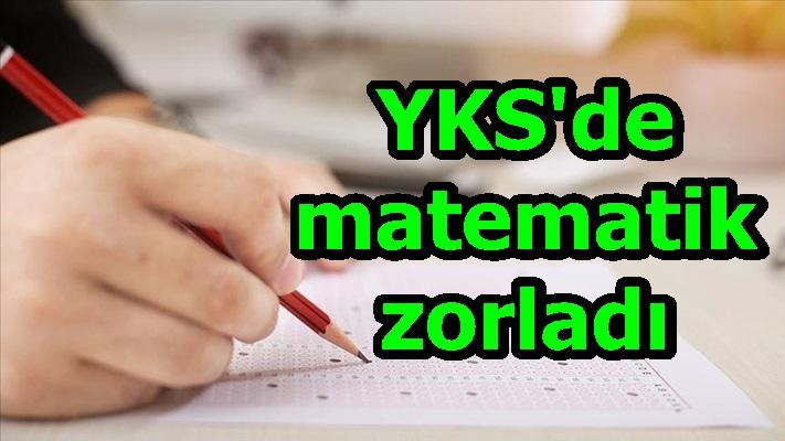 YKS'de matematik zorladı