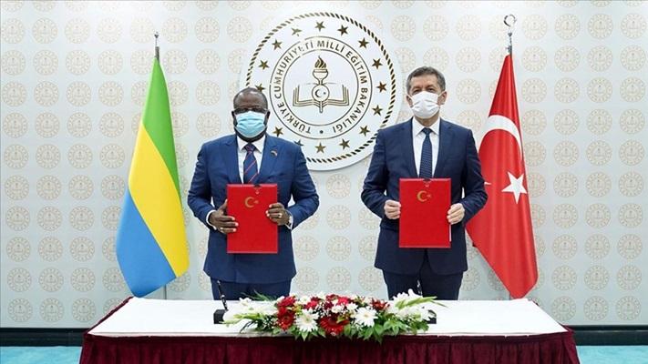 Türkiye ile Gabon arasında eğitim alanında iş birliği