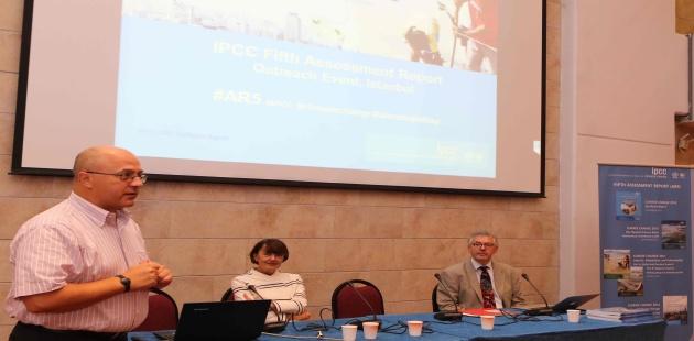 IPCC İklim Değişikliği Raporu Boğaziçi Üniversitesi'nde masaya yatırıldı
