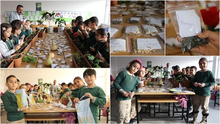 'Atalık tohumlar' öğrencilerin elinde filizleniyor