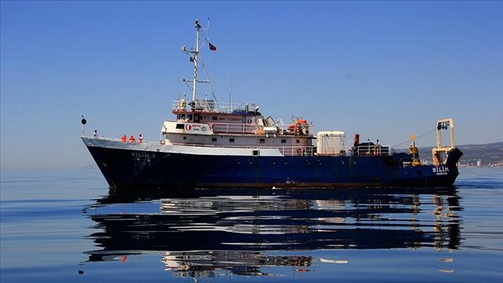 ODTÜ Bilim Gemisi müsilajın Marmara Denizi'nin karanlık diplerine etkisini araştıracak