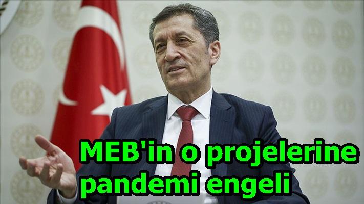 MEB'in o projelerine pandemi engeli