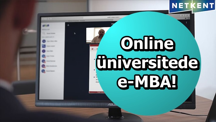 Online üniversitede e-MBA!