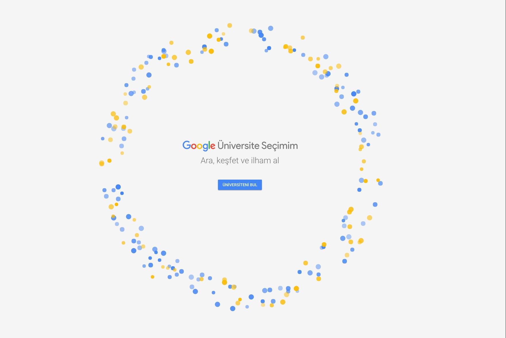 Google bu projeyi sadece Türkiye için yaptı! Adaylar üniversite tercihlerini daha doğru yapacak