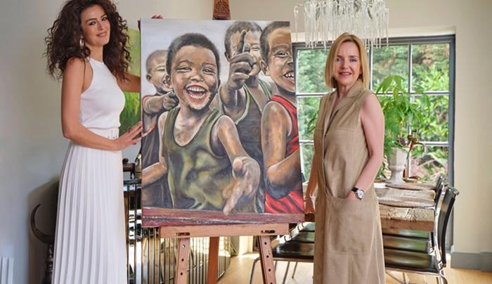 Çocukların geleceğine sanatın anlamlı dokunuşu