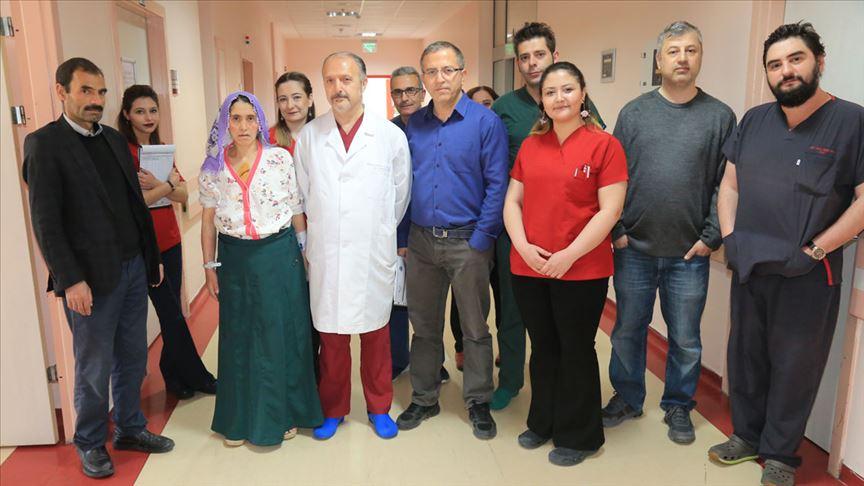 Aort damarına ameliyatsız müdahale