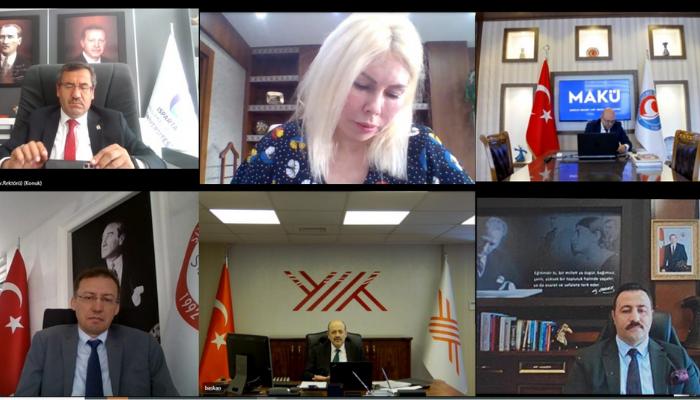 Batı Akdeniz Üniversiteler Birliği toplandı
