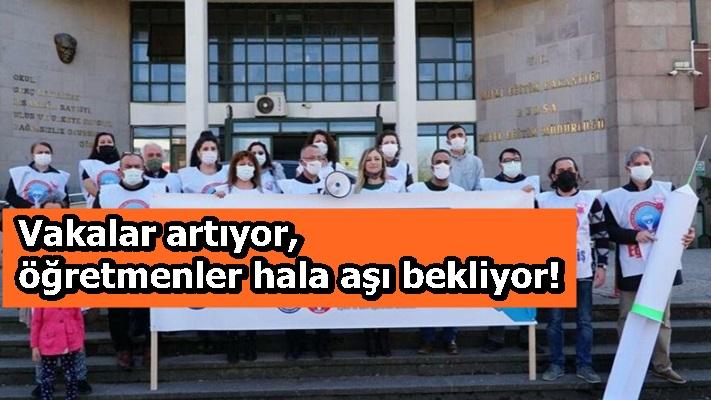 Vakalar artıyor, öğretmenler hala aşı bekliyor!