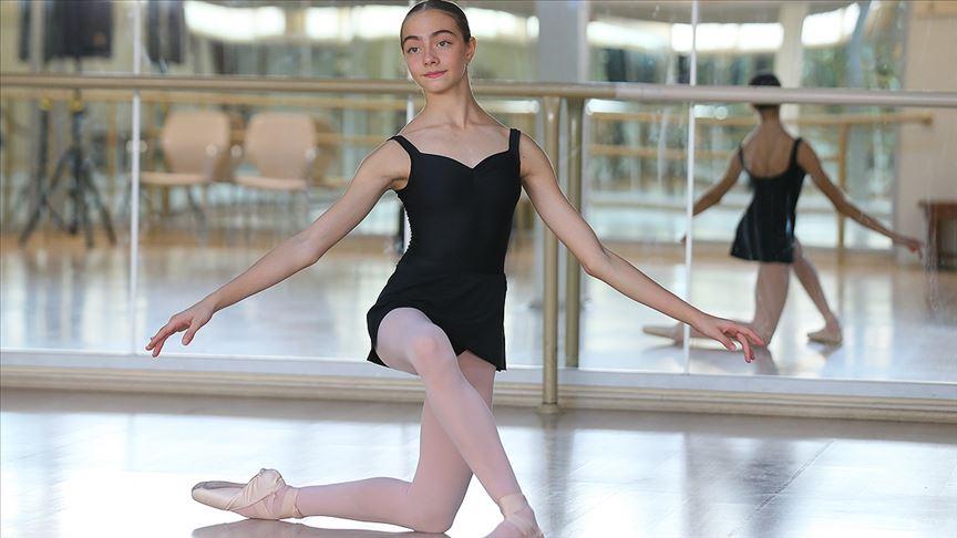 Genç bale öğrencisinin uluslararası başarısı