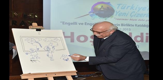 """Bakan Avcı """"Türkiye'nin Yeni Çizerleri Projesi""""nin Açılışına Katıldı"""