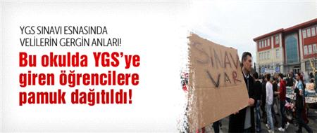 Nevruz'a gidenler YGS öğrencilerini ağlattı