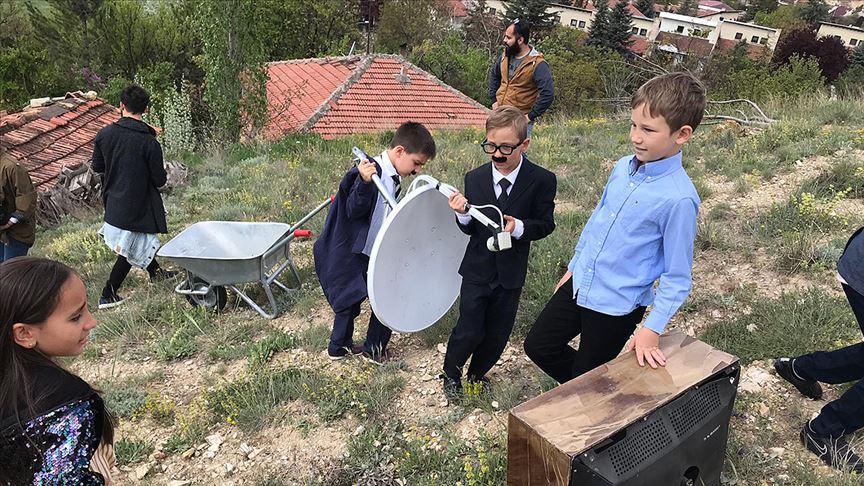 Çocuk sinemacılardan 'Vizontele'