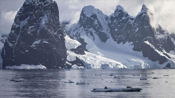 Antartika'daki eriyen kar yüzeyi yosun örtüleriyle kaplanıyor