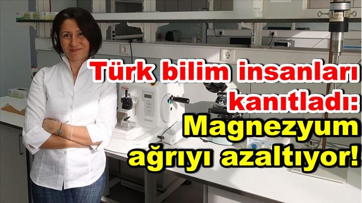 Türk bilim insanları kanıtladı: Magnezyum ağrıyı azaltıyor!