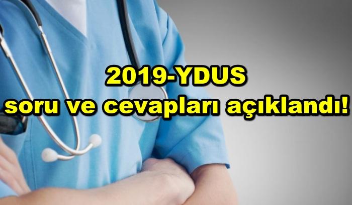 2019-YDUS soru ve cevapları açıklandı!