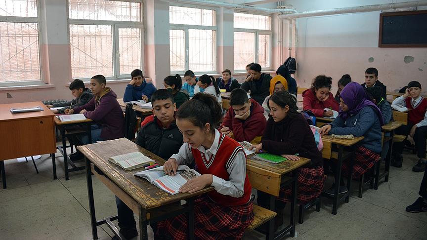 Terör saldırılarının yaşandığı okullarda TEOG başarısı
