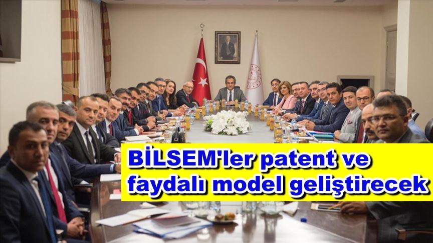 BİLSEM'ler patent ve faydalı model geliştirecek