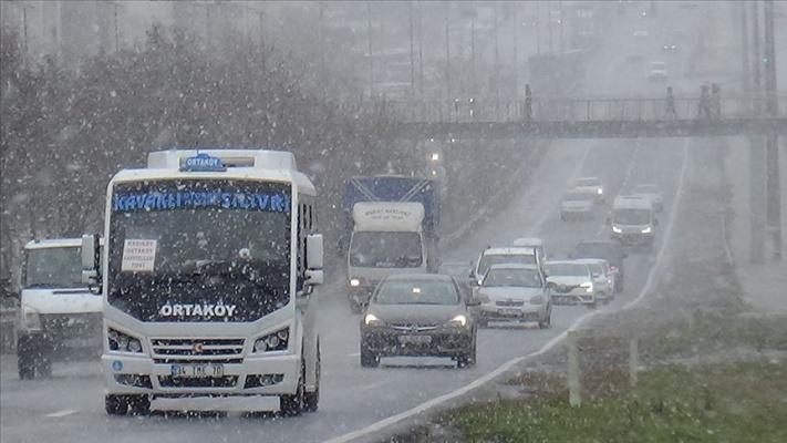 İstanbul'da karla karışık yağmur bekleniyor!