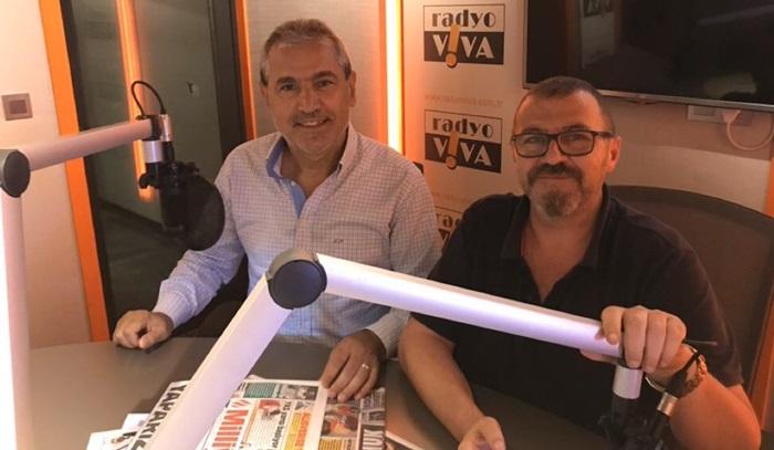 Abbas Güçlü  Radyo Viva'da canlı yayında eğitimi ve İstanbul'u konuşuyor!