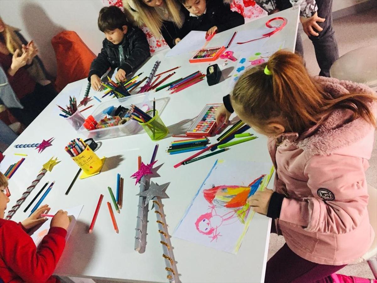 Öğrenciler yarıyıl tatilini interaktif müzede geçiriyor