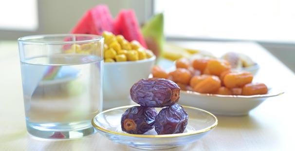 Gün Gün Ramazan Ayı Beslenme Programı