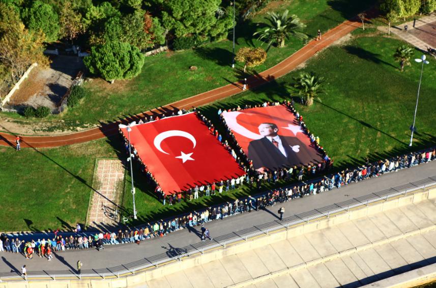 "Anadolu Yakasında 9'u 5 GEÇE ""ATA'YA SAYGI  ZİNCİRİ"""