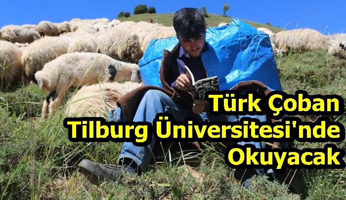 Türk Çoban Tilburg Üniversitesi'nde Okuyacak